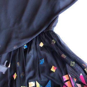 Simon Chung colourful dress